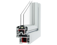Abaco 5stars serramenti-pvc-profilo-veka bianco